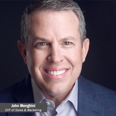 John Menghini, EVP of sales and marketing
