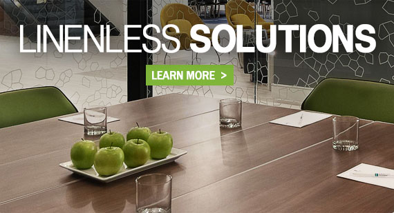 Linenless Table Solutions